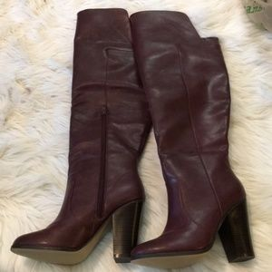 NWOT ShoeDazzle Over the knee boots